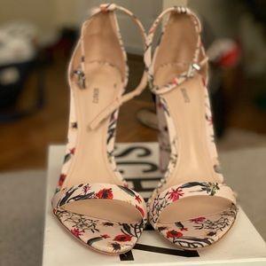 Schutz Floral Ankle Strap Sandal - Size 10